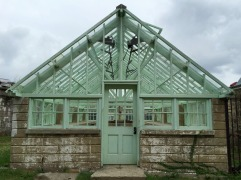 The greenhouse that was used to reward good behavior